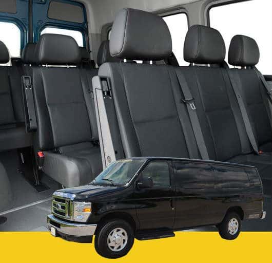 13 Passengers Van