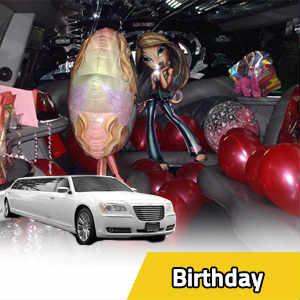 Limousine birthday rentals