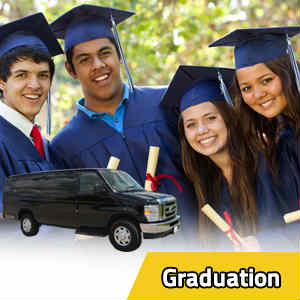 Limo rentals for Graduation